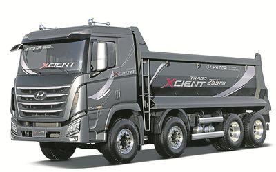 Hyundai Xcient 2013