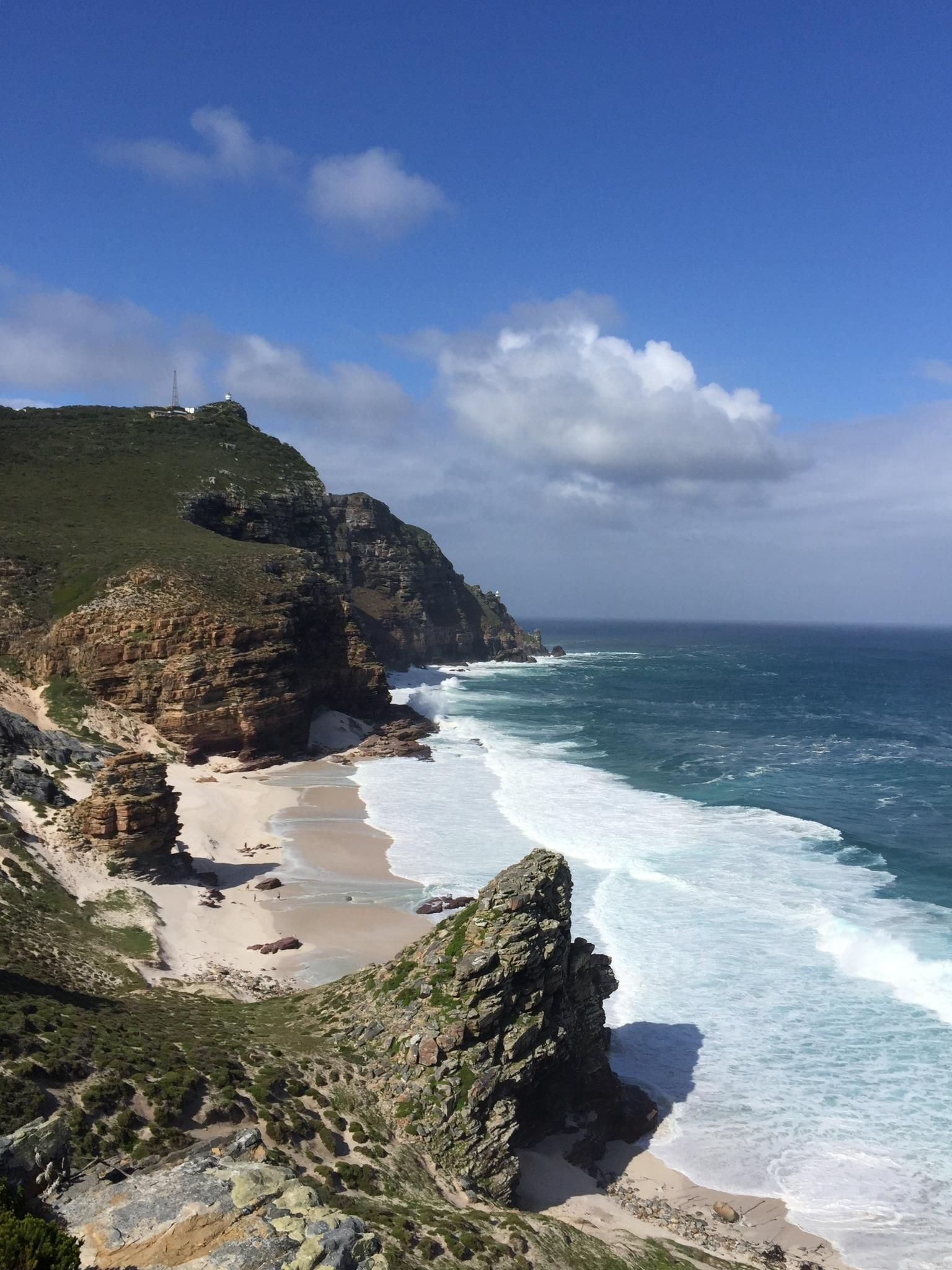 Blick zum Cape Point