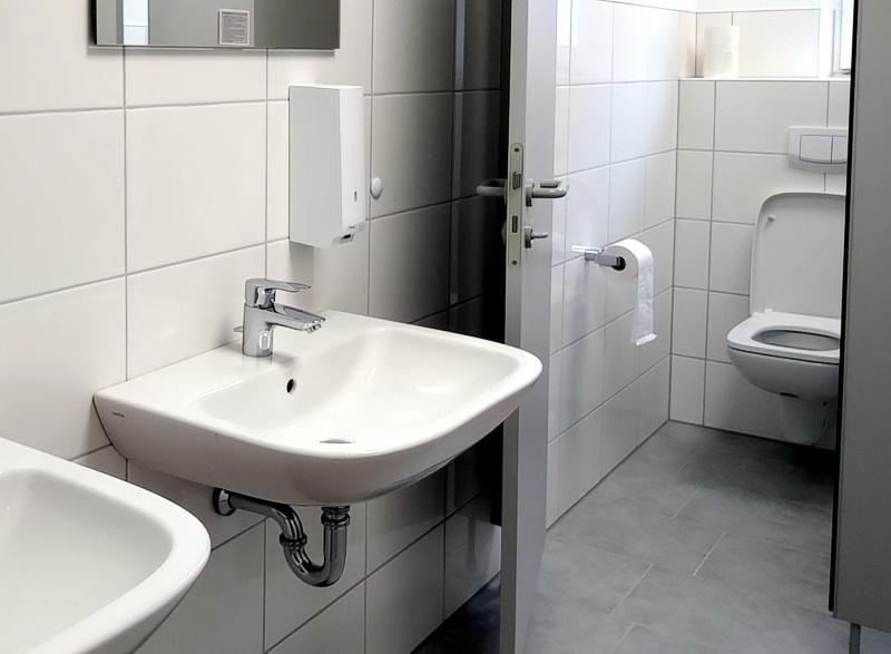Renovierung der Sanitäranlagen abgeschlossen