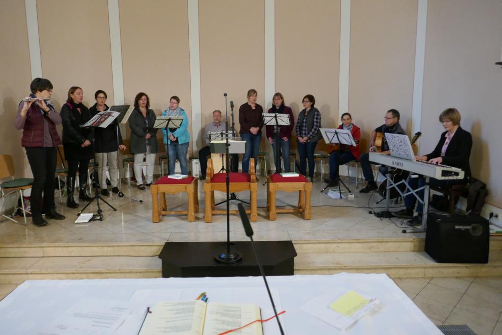 Der Kreis für junge Musik aus St. Josef am 22.10.2017