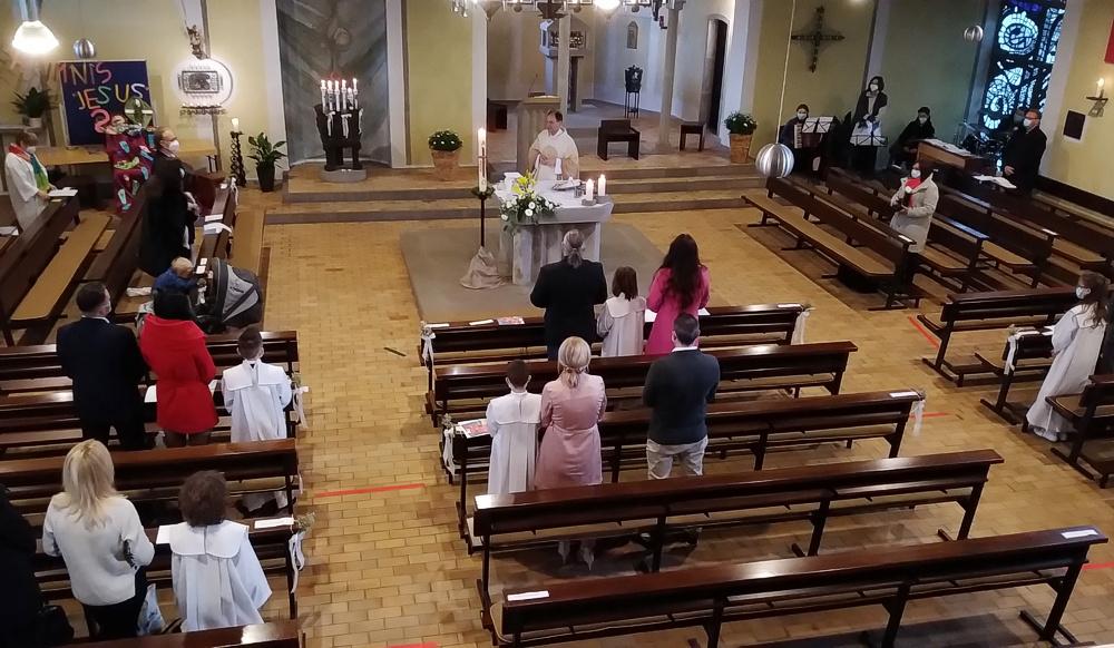 Erstkommunion in St. Januarius am 15. und 16. Mai
