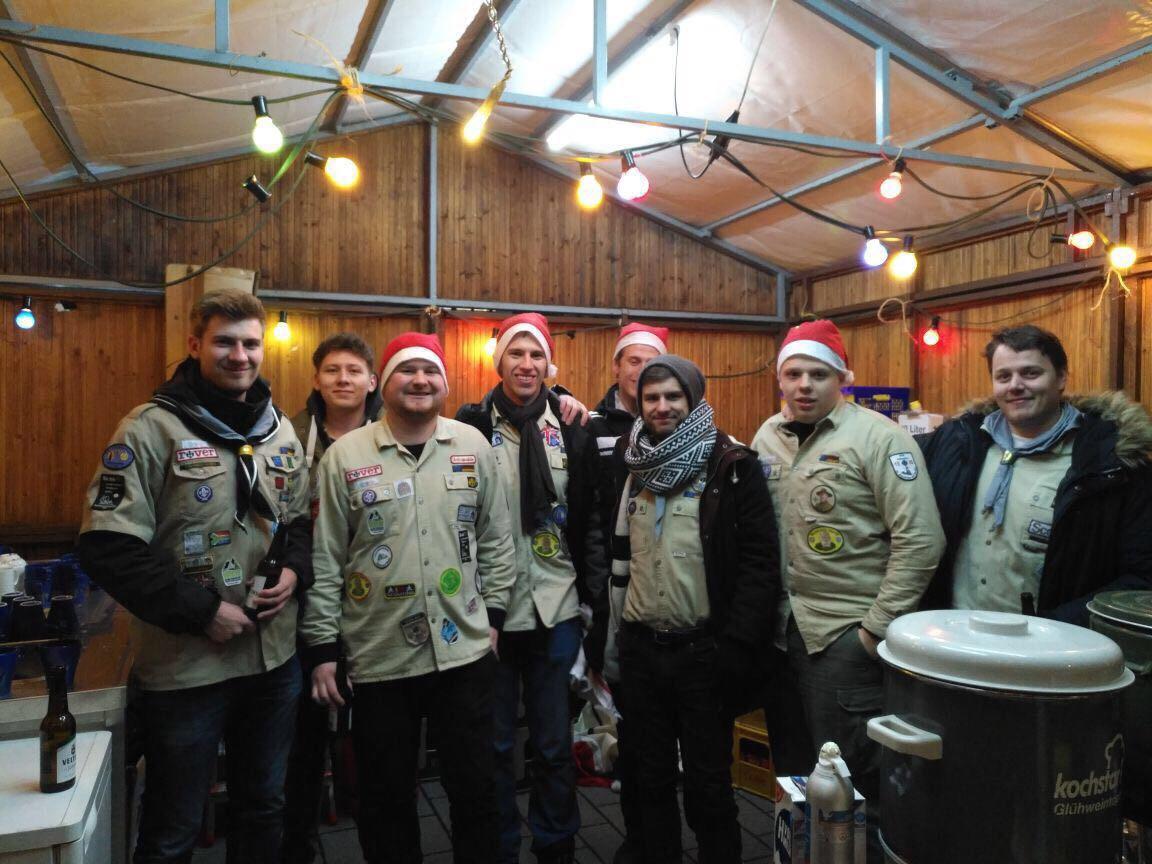 DPSG Volmarstein auf dem Weihnachtsmarkt Wetter