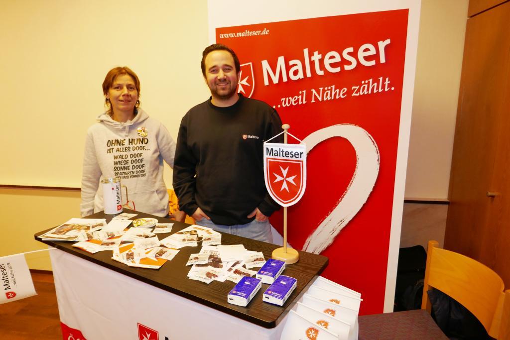 Der Malteser Hilfsdienst ist zu Gast