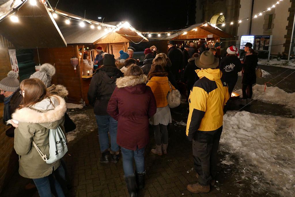 Abendstimmung auf dem Weihnachtsmarkt