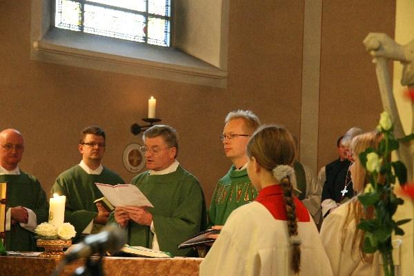 Einführung am 25.10.2009 durch Pfarrer Winter