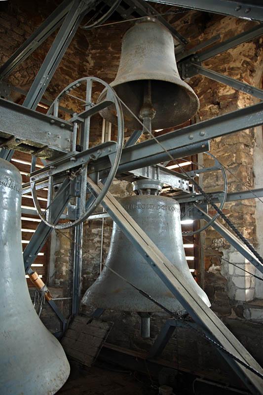 Innenansicht Glockenturm St. Januarius