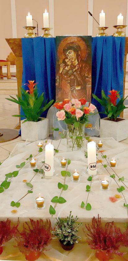 Rosenkranzandacht und Jahreshauptversammlung