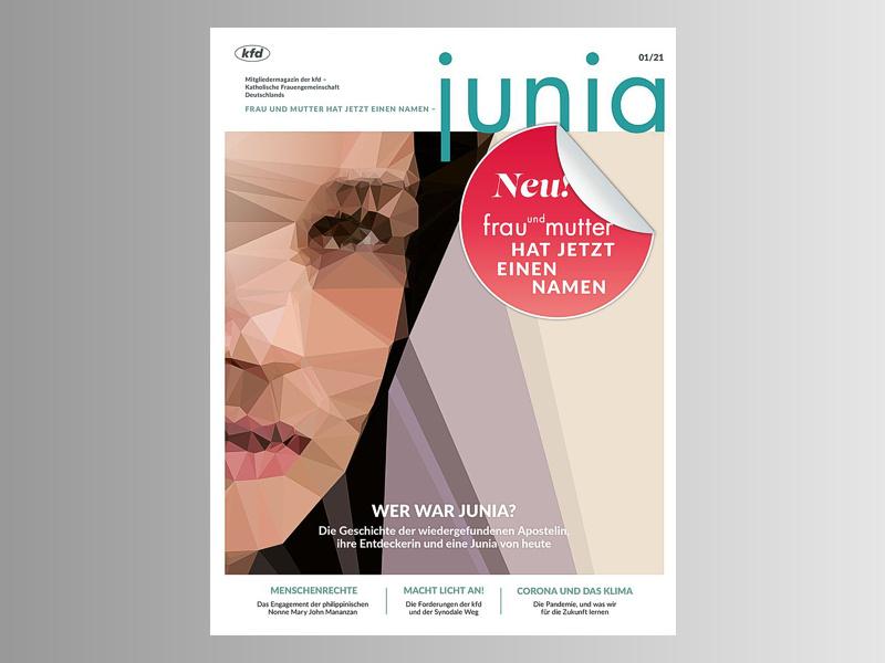 """""""Frau und Mutter"""" heißt jetzt """"Junia"""""""