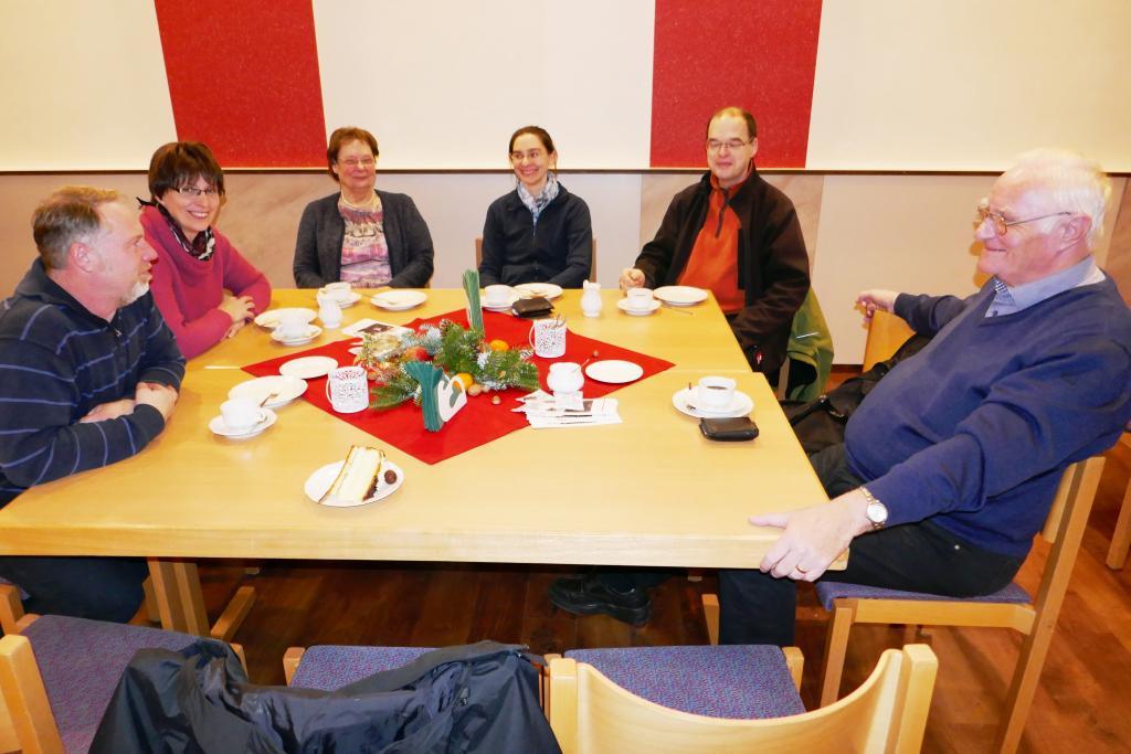 Gäste im Gemeindeheim