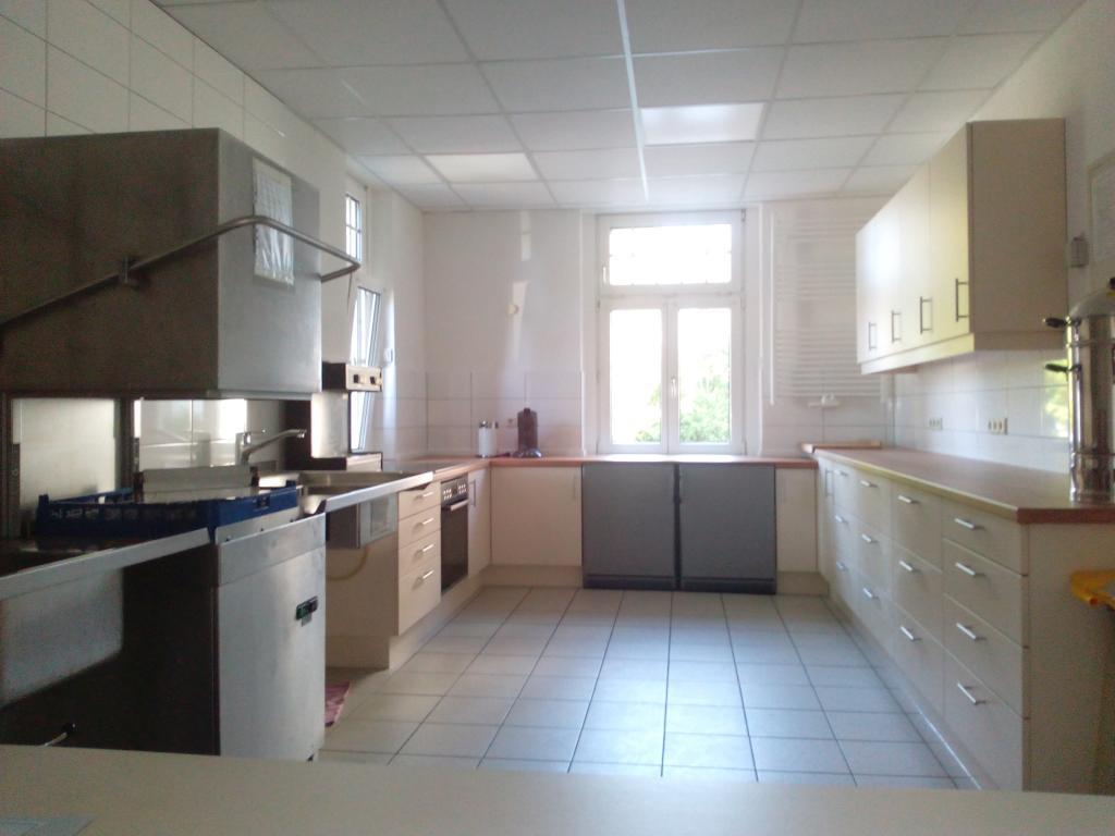 Blick in die renovierte Gemeindeheim-Küche
