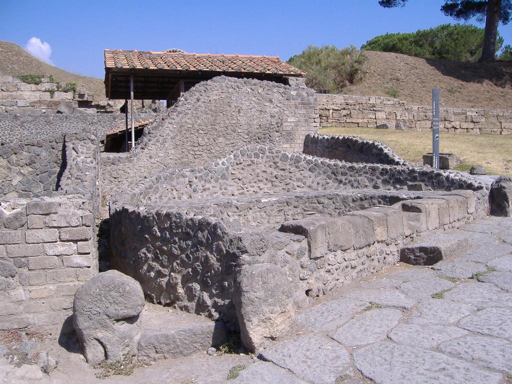 Pompei gli scavi