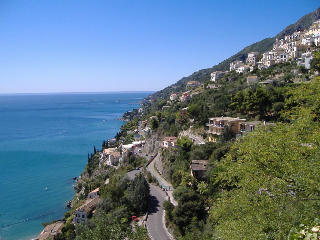 La costa Amalfitana
