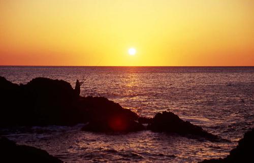 庄内浜夕陽