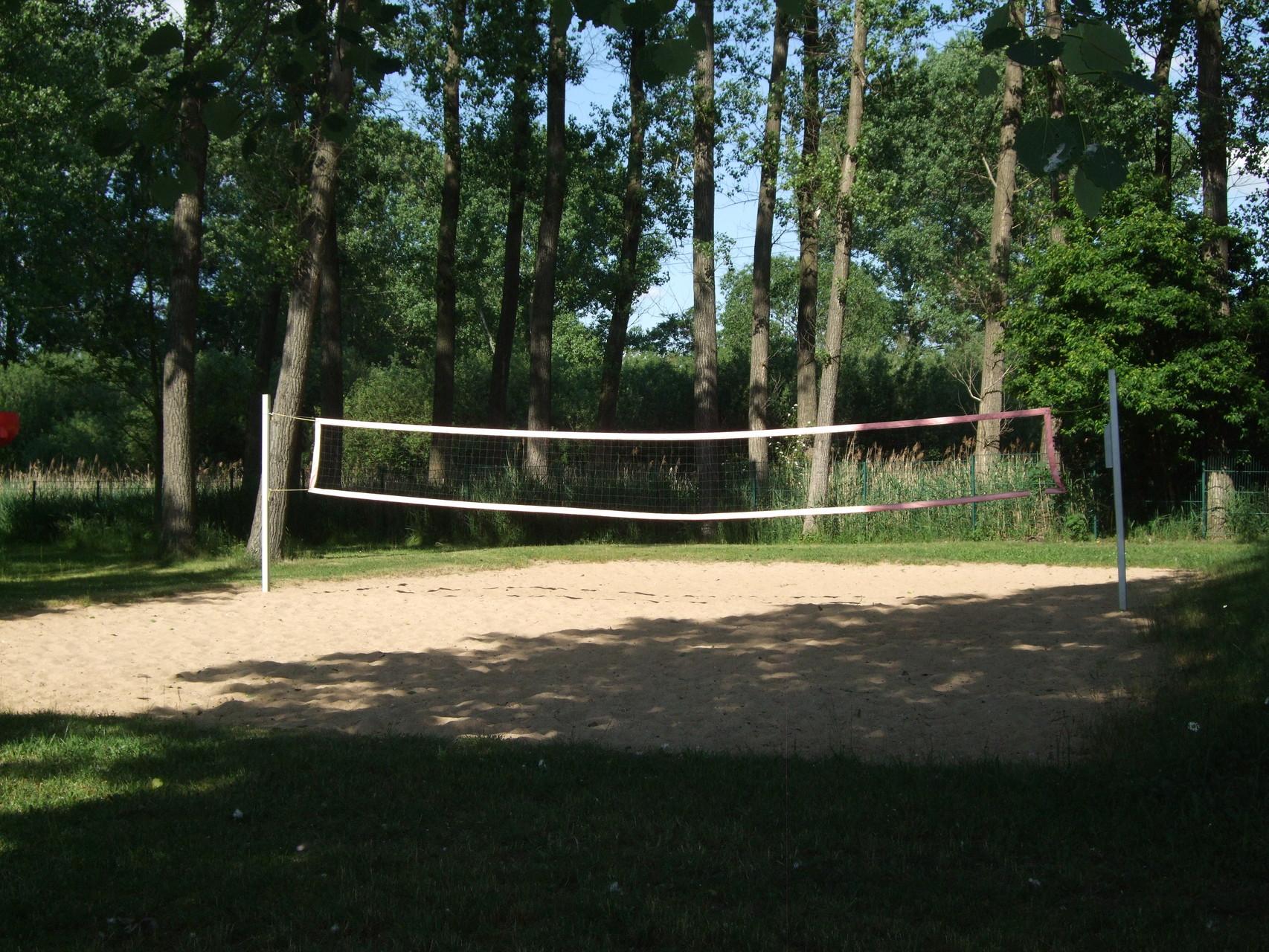 Volleyballplatz im Naturbad