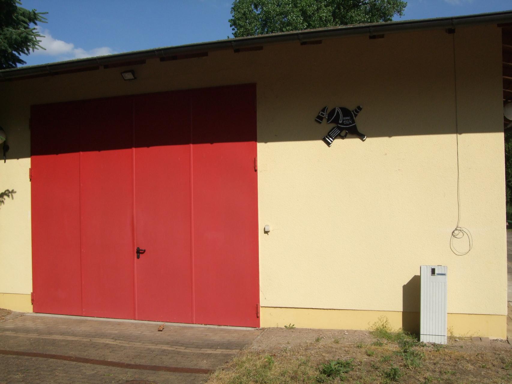 Gerätehaus der FFW Goltzscha