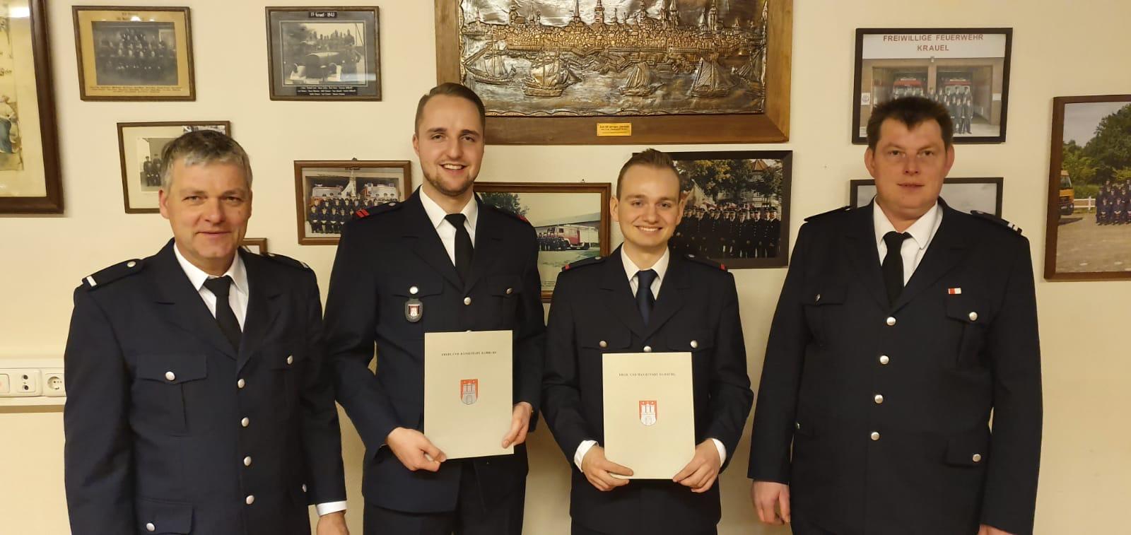 WF/V R.Hevers, OFM K.Glasow, FM L. Sander, WF T. Putfarcken