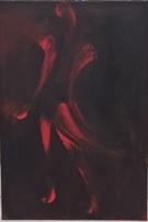 """""""Imaginaire 2019-11"""", acrylique sur toile, 55 x 38"""
