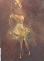 """""""Imaginaire 2019-13"""", acrylique sur toile, 70 x 50"""