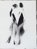 """""""Imaginaire 2019-16"""", acrylique sur toile, 40 x 30"""
