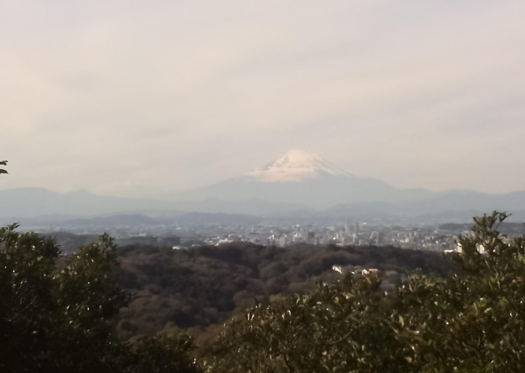 富士山と鎌倉市街