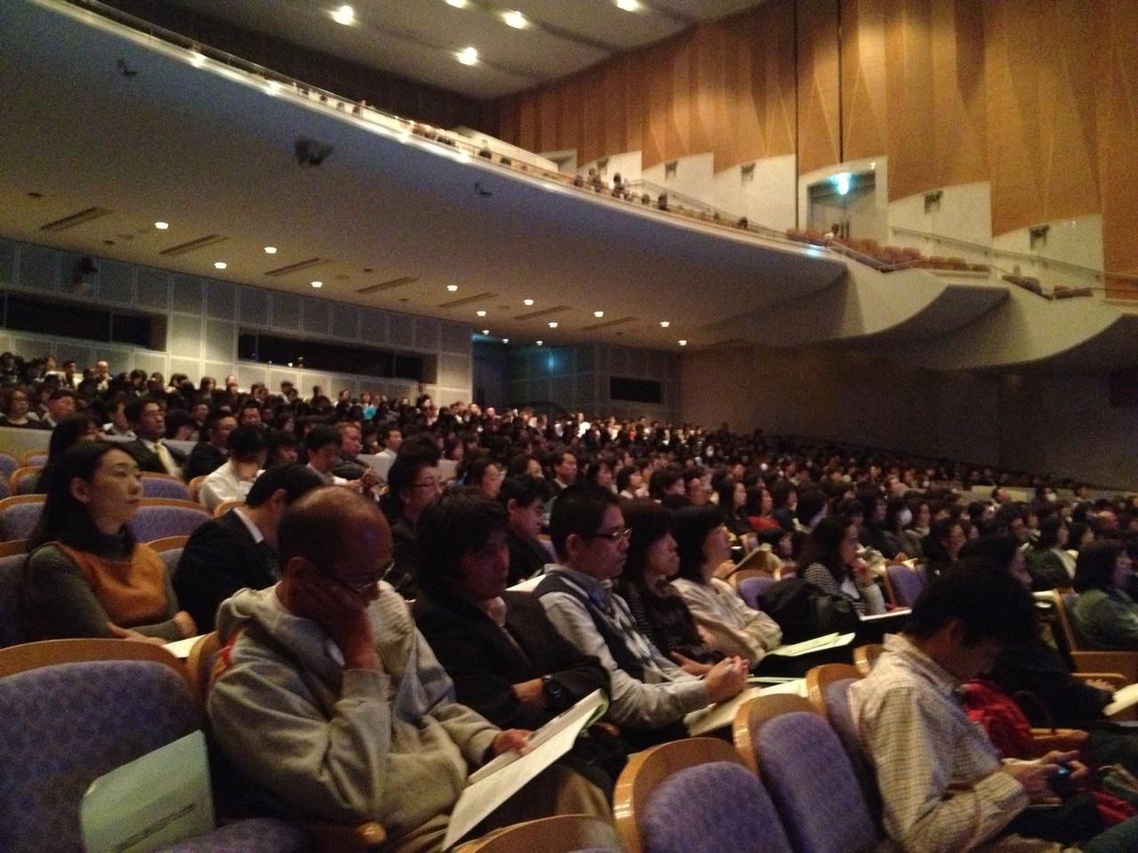 県内各地より、会場には1200名の参加がありました