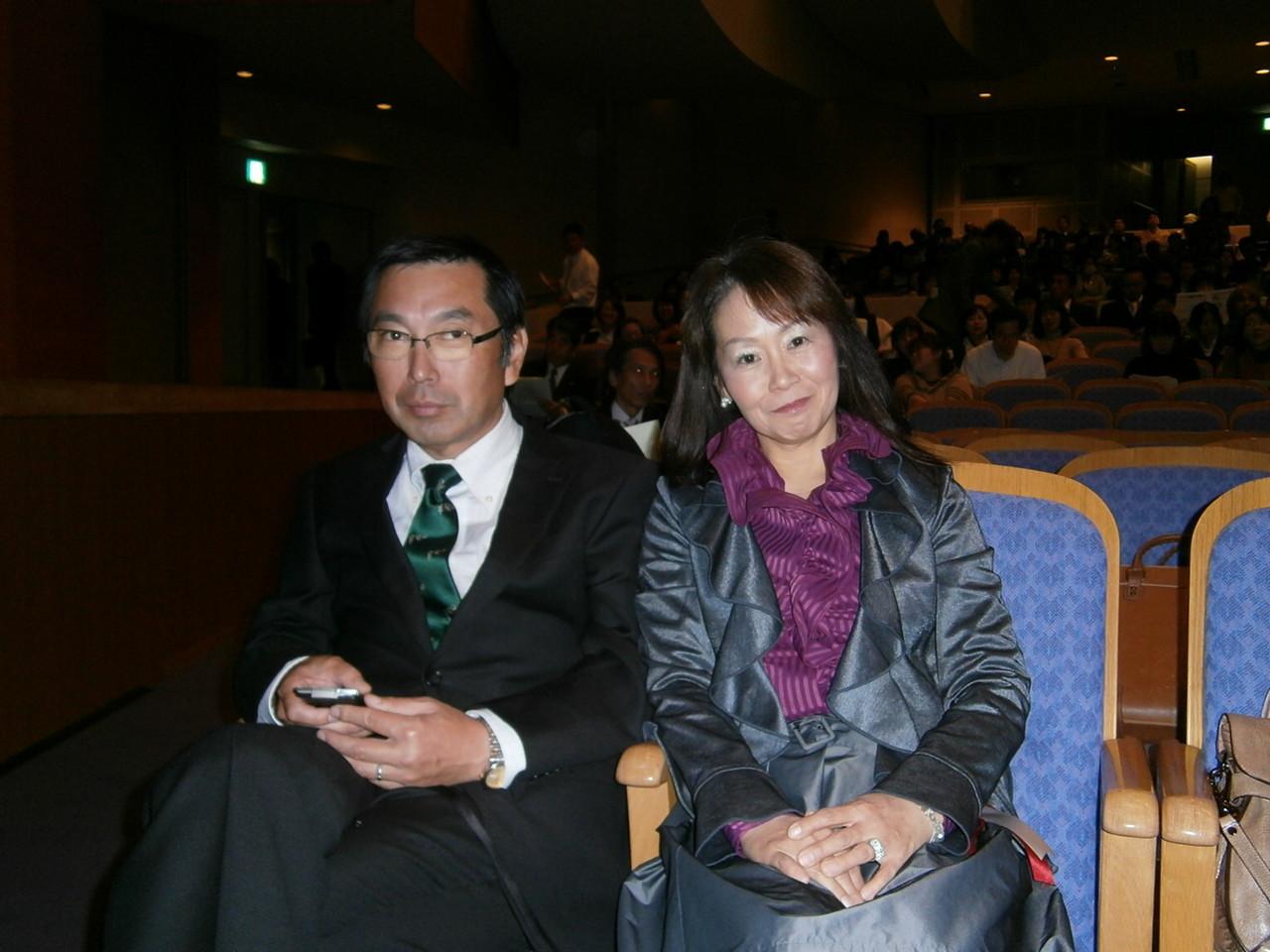 先輩達、県知事から感謝状授与されました。おめでとうございます!