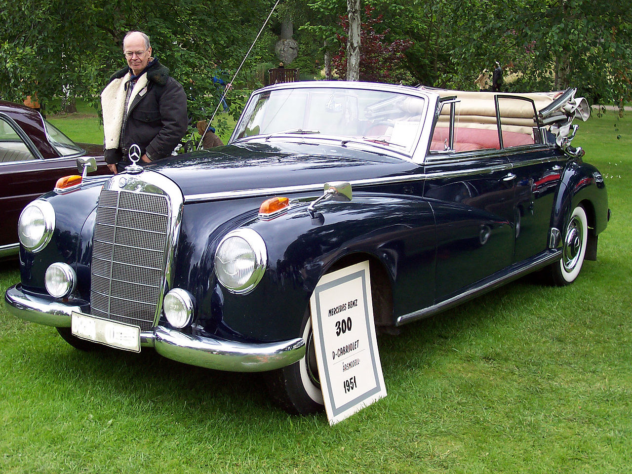 Cabriolet D W186 «300»