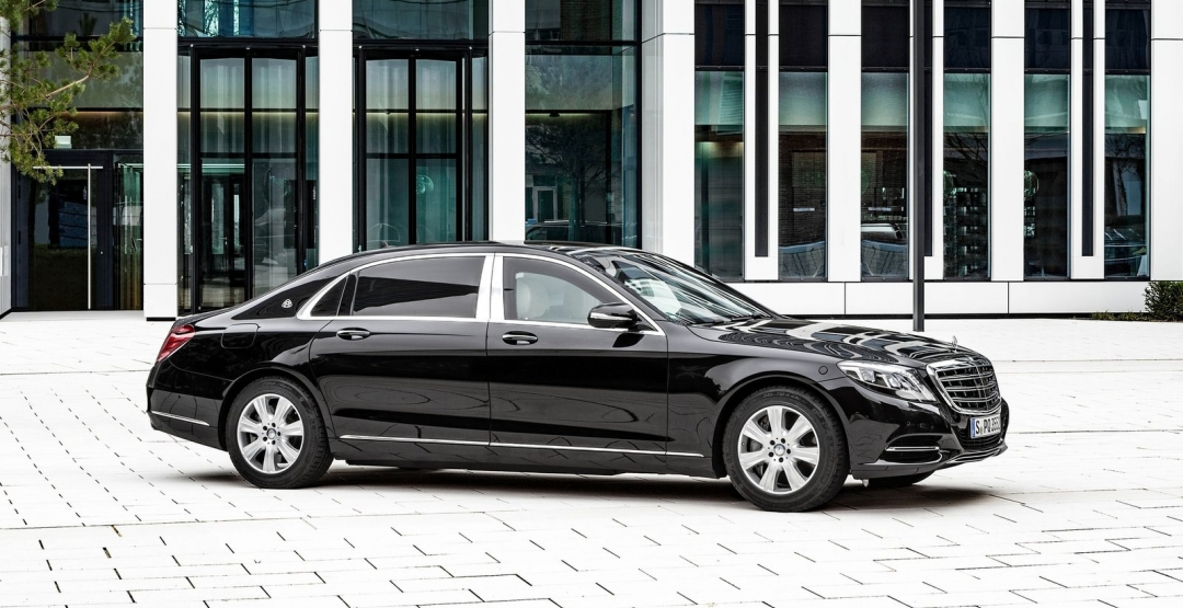 Armored Mercedes-Maybach S600 Guard
