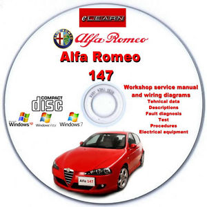 Alfa Romeo 147 2001-2004 E-Learn Free Download