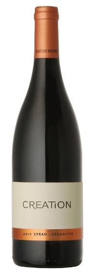 Syrah, Grenache 2015  80% Syrah, 20% Grenache, 14,5 % Alk. Die beiden Rhonetaltrauben Syrah und Grenache ergeben beim Creation Wines Syrah Grenache einen geschmeidigen Wein der schon jung genossen werden kann.  Die Aromen von Rauchfleisch, Brombeeren, Pfe
