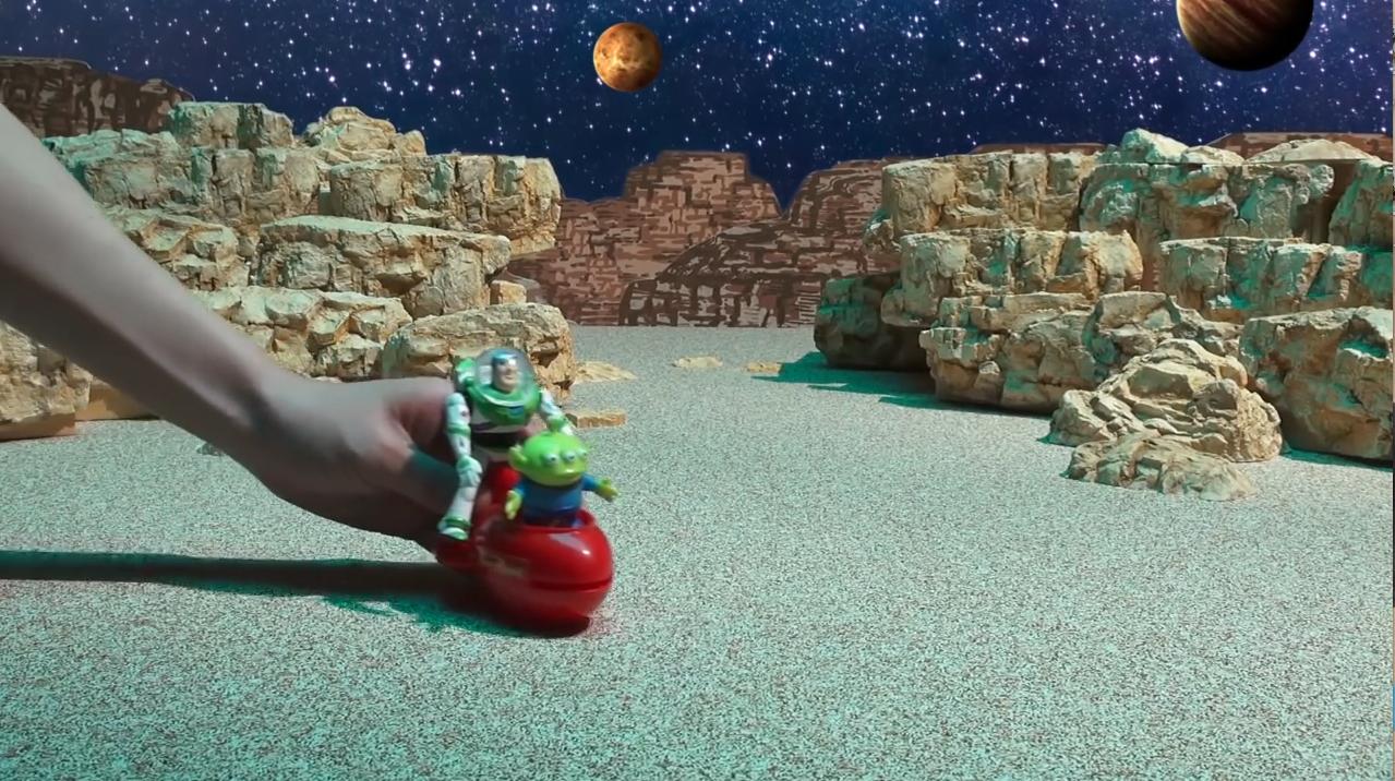どんどんおしゃべりコレクション トイメーション映像 「ピザプラネットの闘い!!」