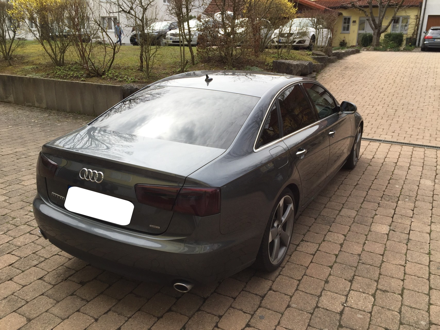 Audi A6 4G Scheibentönung hinten 5% vorne 35% + Rückleuchtentönung