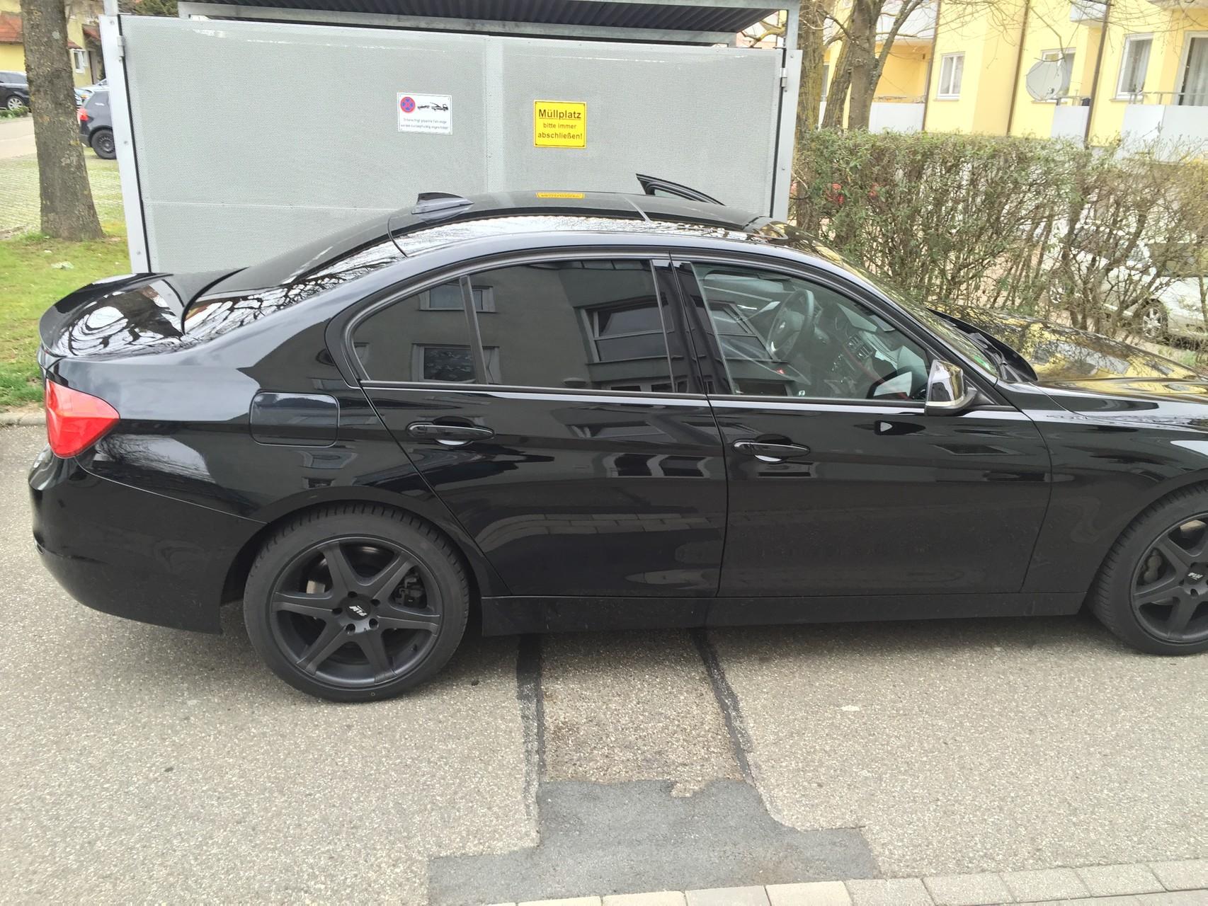 BMW F30 335i Scheibentönung 5%