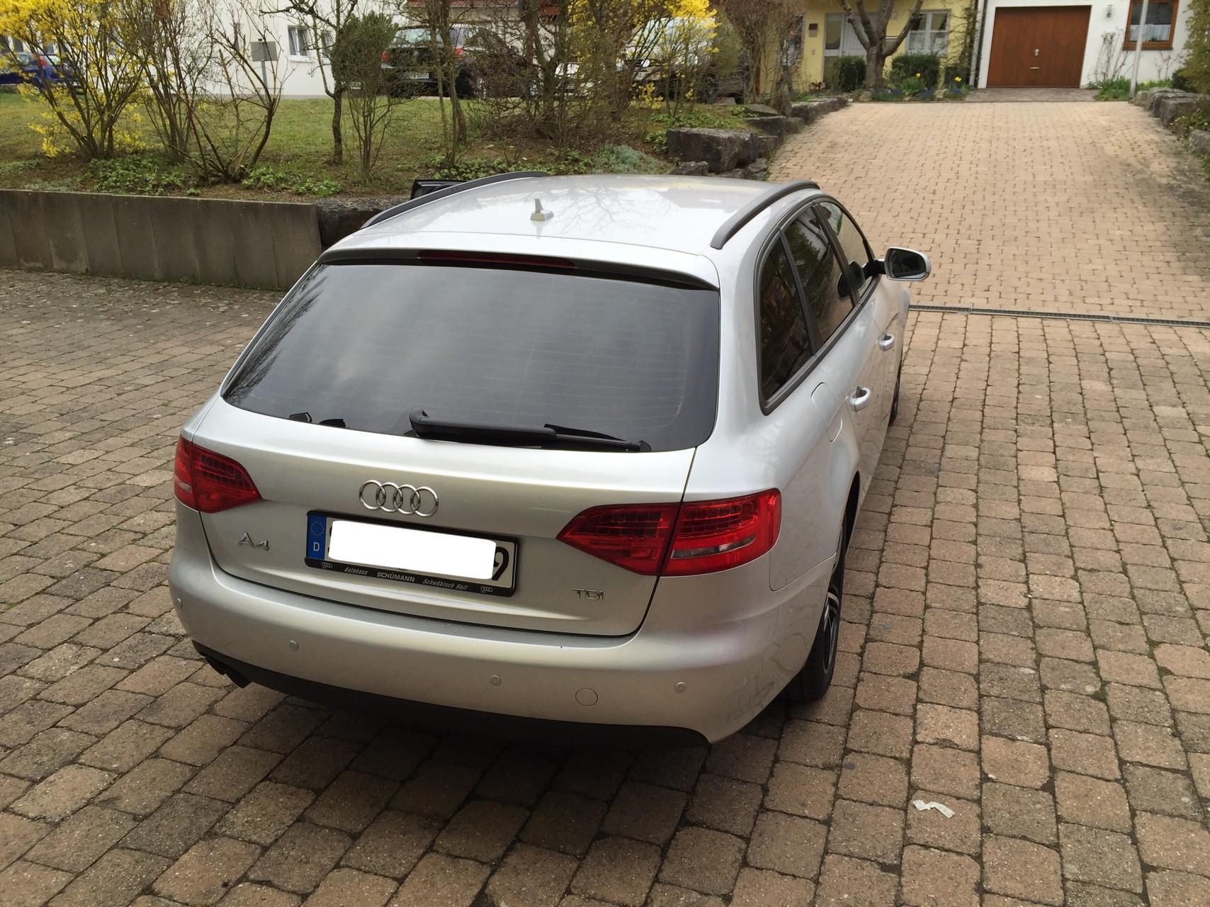 Audi A4 B8 Kombi Scheibentönung 5% + Blendstreifen Vorne
