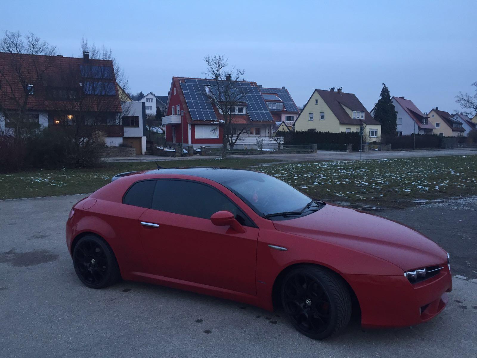 Alfa Romeo Brera Scheibentönung hinten 5% vorne 35%