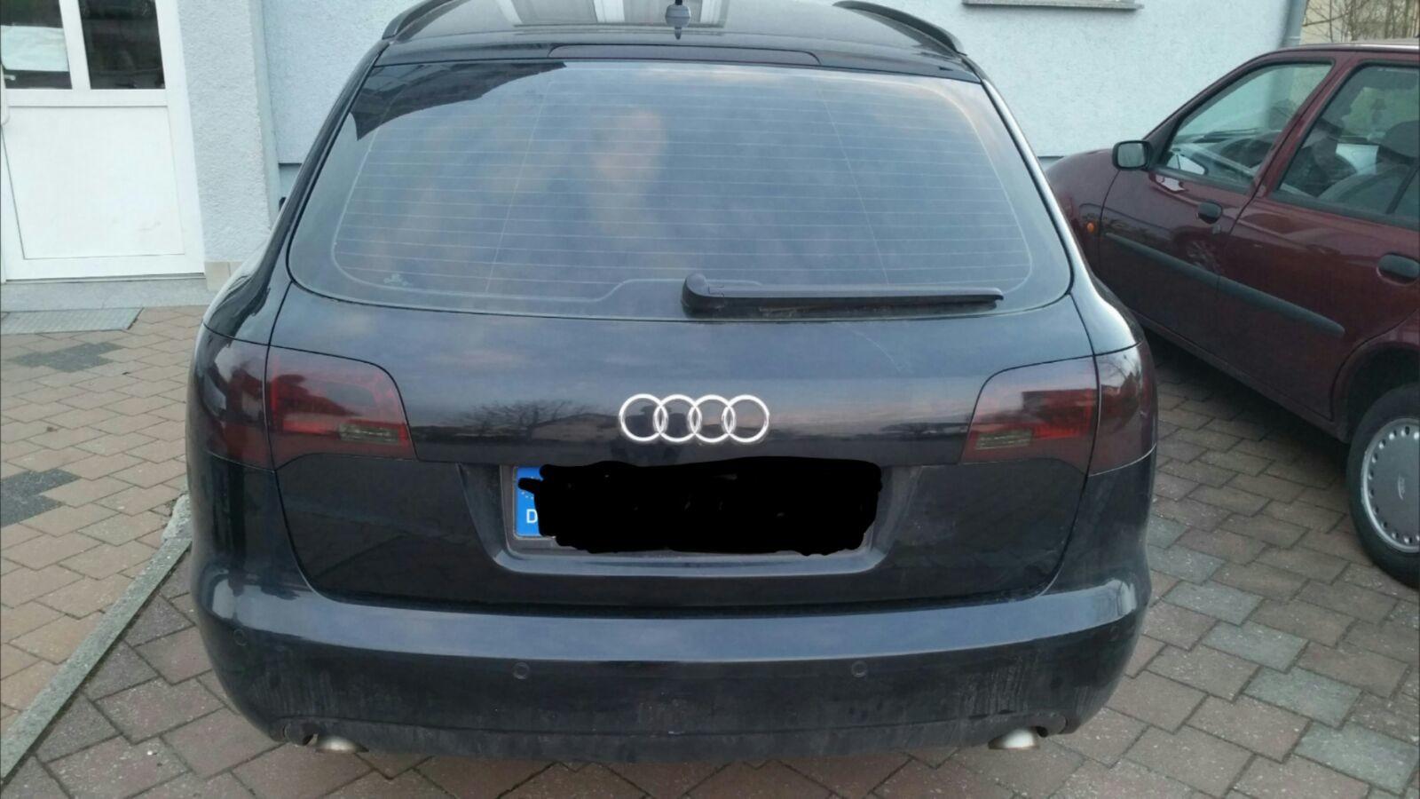 Audi A6 Scheibentönung + Rückleuchtenfolierung