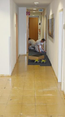 Bodenbelagsarbeiten Flur