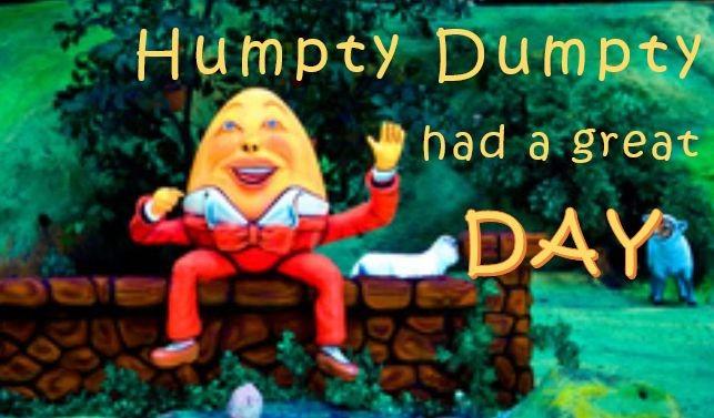 Humpty Dumpty at Rock City