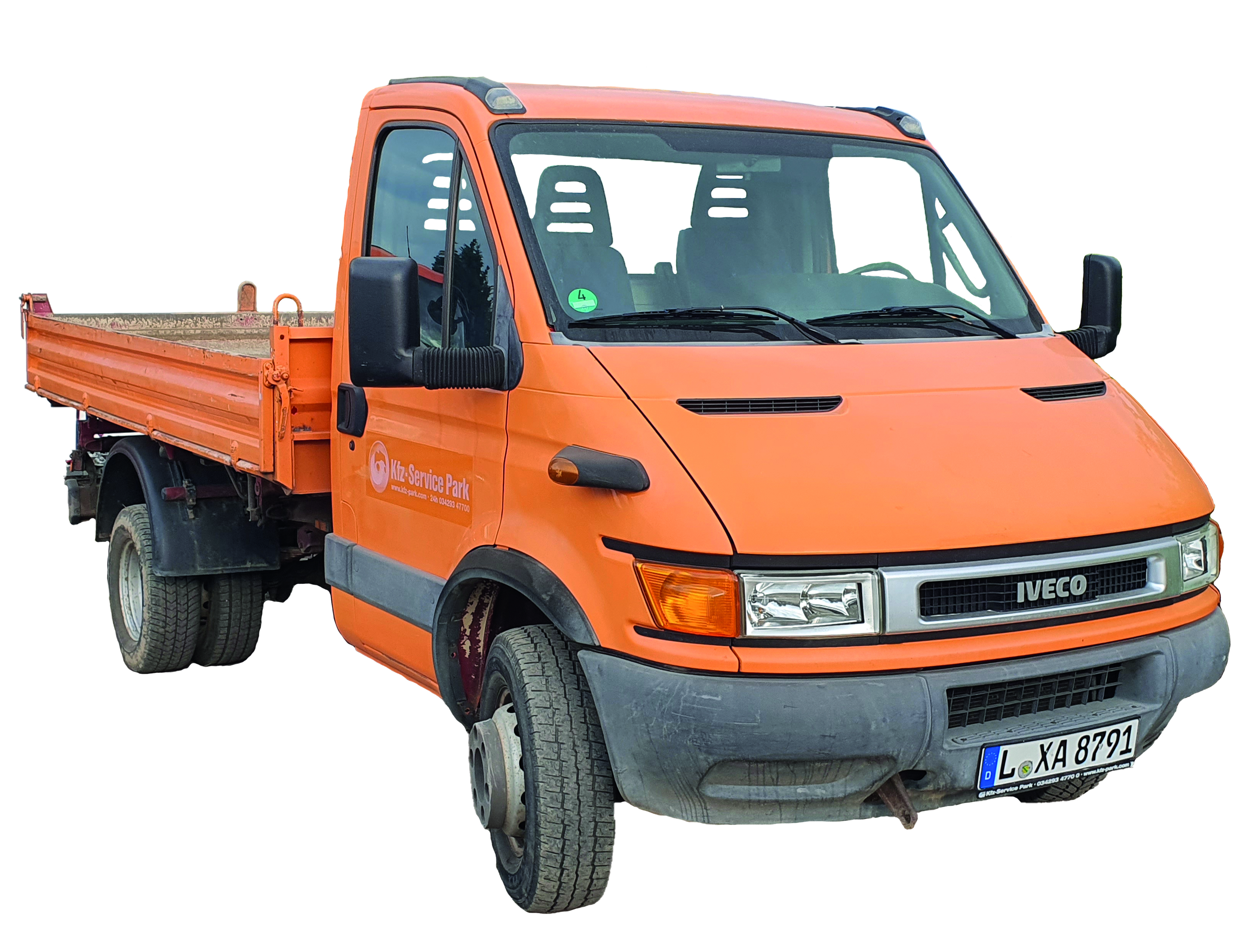3-Seitenkipper Iveco Daily 65C