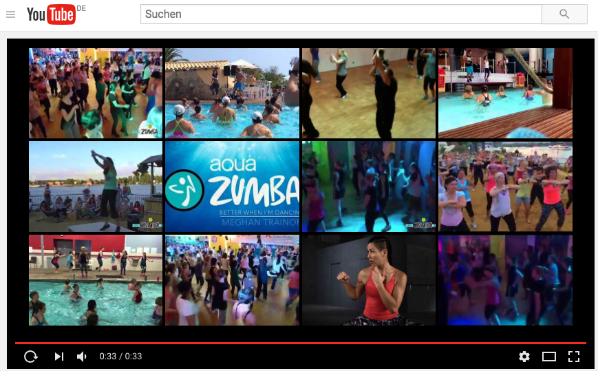 YouTube Kanal Zumba-in-Mainz
