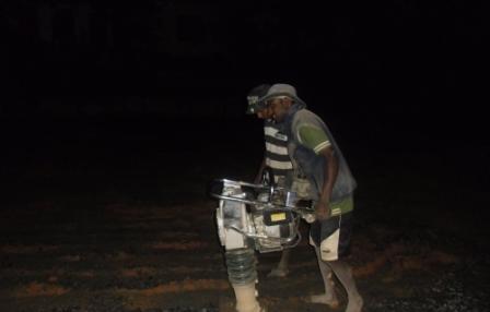 Bodenbearbeitung auch bei Nacht