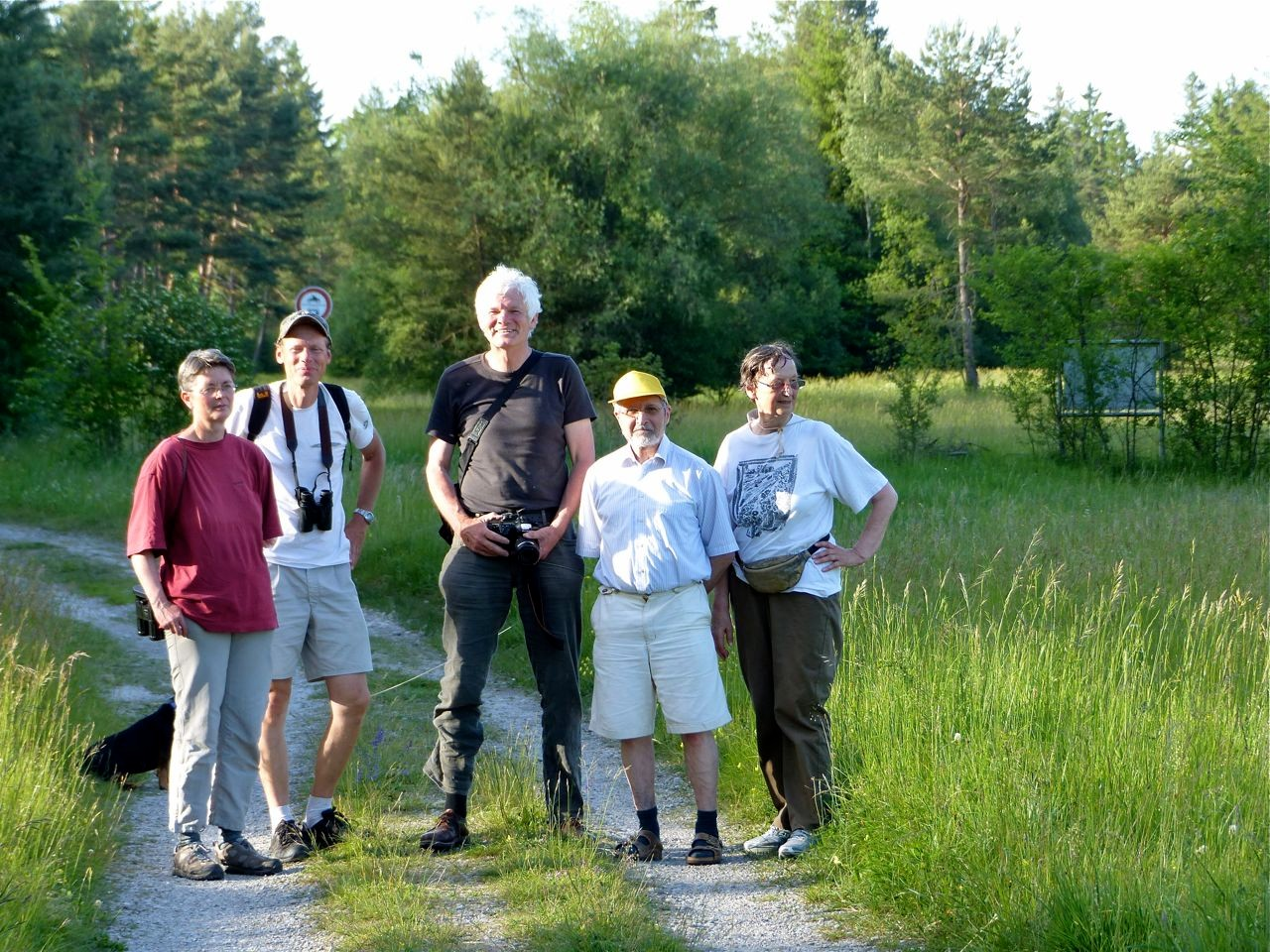 ein Teil der Exkursions-Teilnehmer
