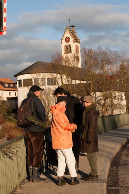 Donaubrücke Pfohren, hier gibts immer was zu sehen