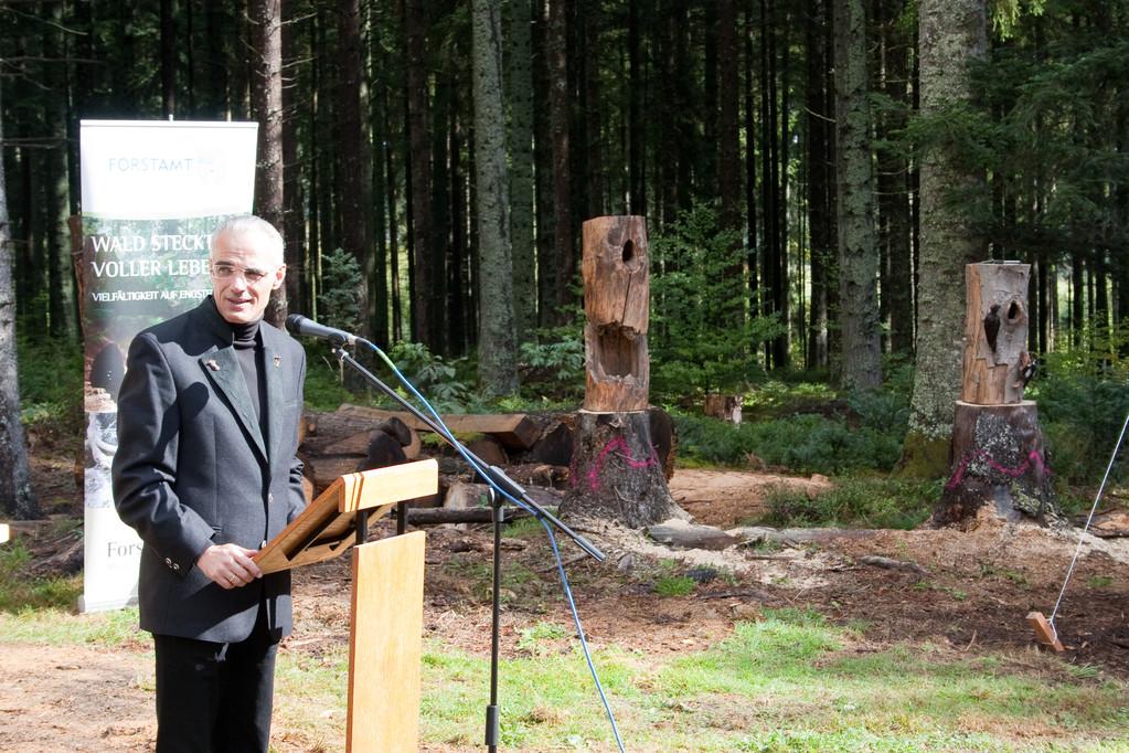 NABU beim Waldtag der Gemeinde Königsfeld