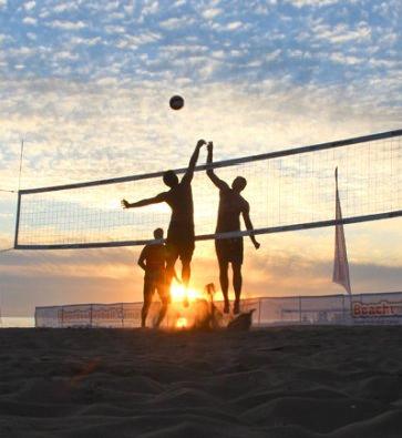 Beach Volley in den Sommerferien