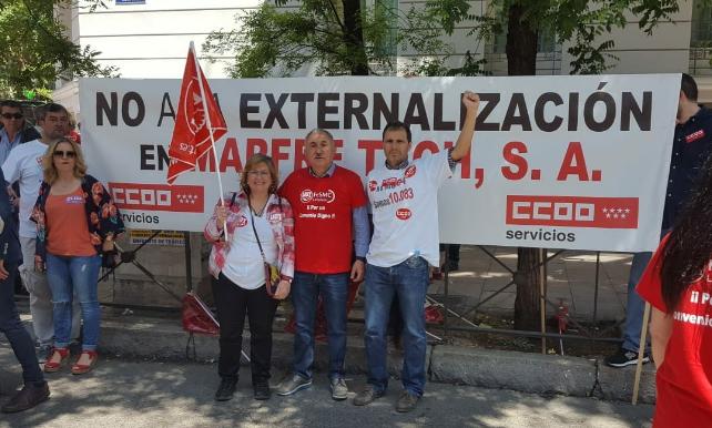 Madrid. Acto Sindical 22 mayo 2018