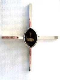 Kreuz mit Ludgerus-Reliquie