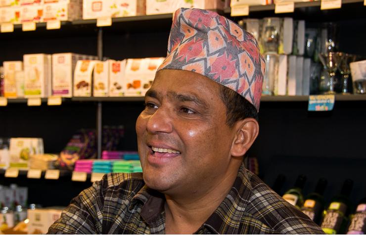 Zilversmid Dambar uit Nepal