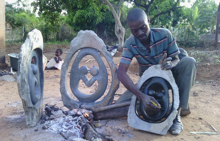 Kunstnijverheid uit Zimbabwe