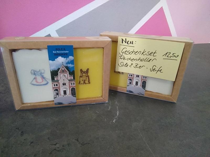 Reichenhaller Sole& Bier-Seife (Set 12,50 €)